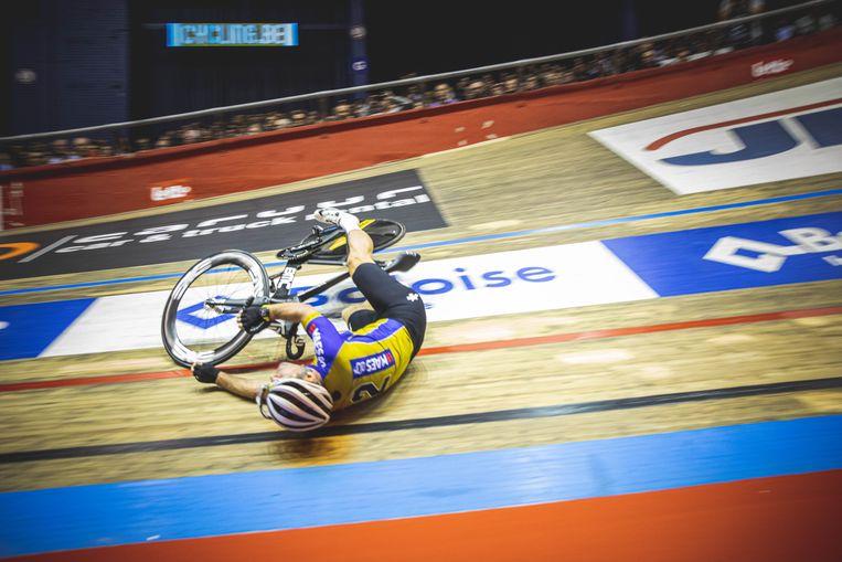 Cavendish valt op de Zesdaagse van Gent.