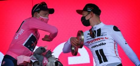 Kelderman voor eerst op podium in grote ronde: 'Dubbel gevoel'