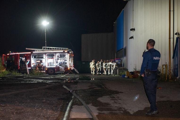 Rond elf uur brak brand uit in de pluimveeslachterij Nollens Poultry.