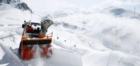 Het is eind mei maar er wordt wel een recordhoeveelheid sneeuw verwacht in de Alpen
