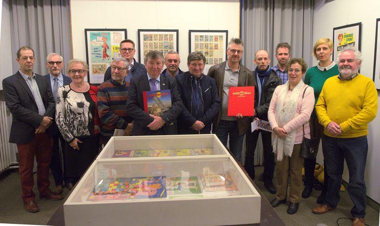 In het gemeentemuseum van Temse is de expo '80 jaar weekblad Robbedoes' geopend.