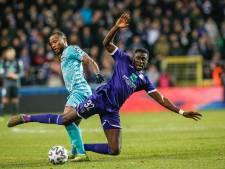 Anderlecht loopt weer averij op in race om play-offs