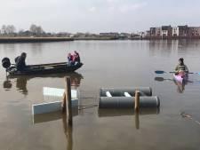 Afvalvangende zeef in gebruik genomen in Zwolle