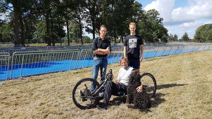 Marc Herremans (en 1.300 andere sportievelingen) klaar voor Sterke Peer Triatlon