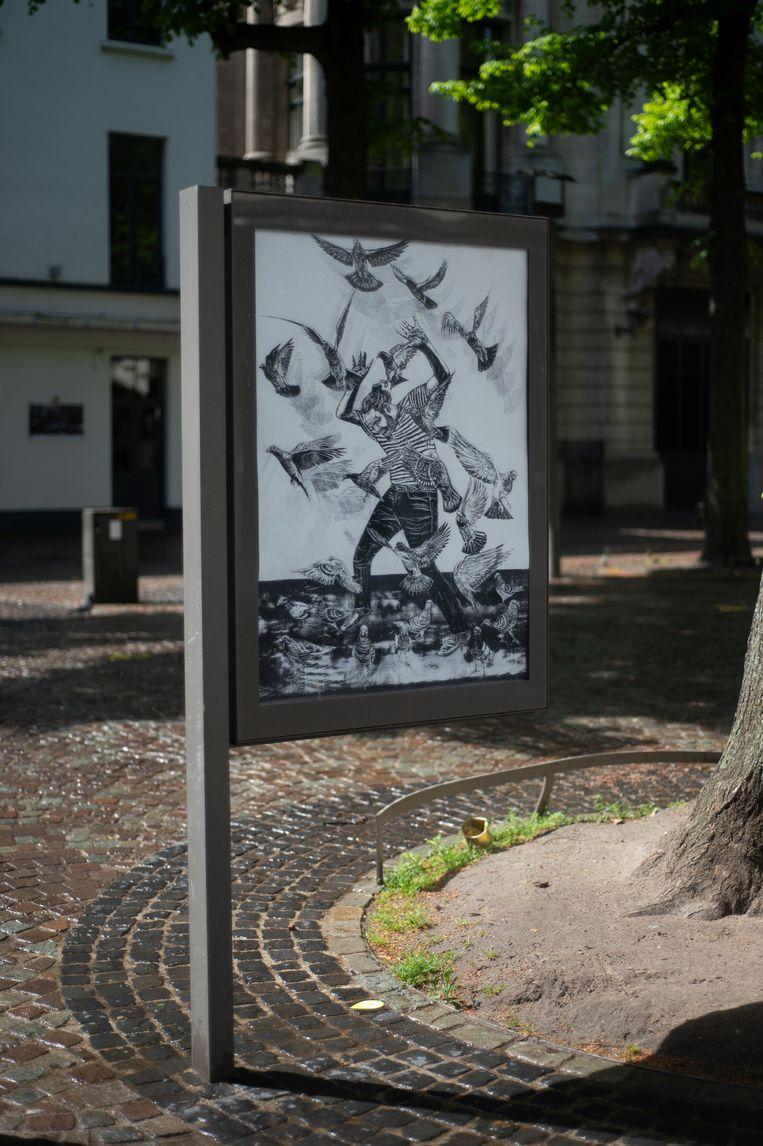 Antwerpen Billboard Project: Graanmarkt.