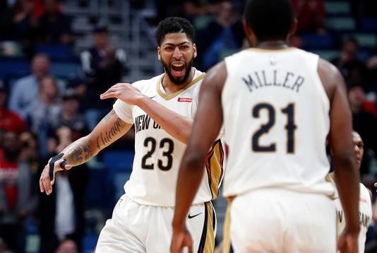 New Orleans Pelicans' Anthony Davis.