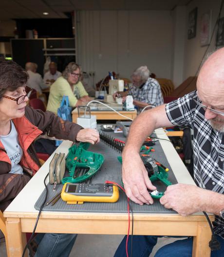 Hopen op een tweede leven in Repair Café Dieren