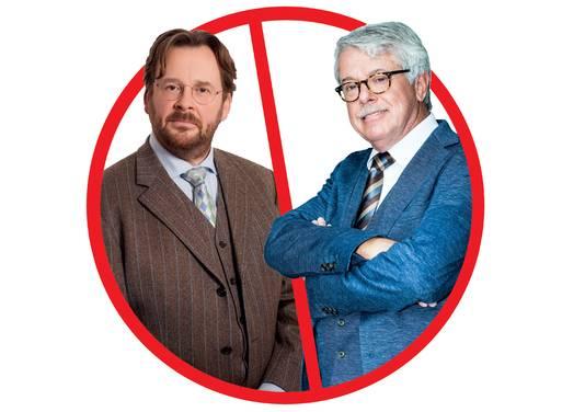'Rijdende rechters' John Reid en Frank Visser.