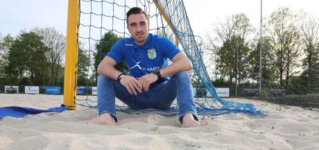 Opeens is beachsoccer-keeper De Graaf international