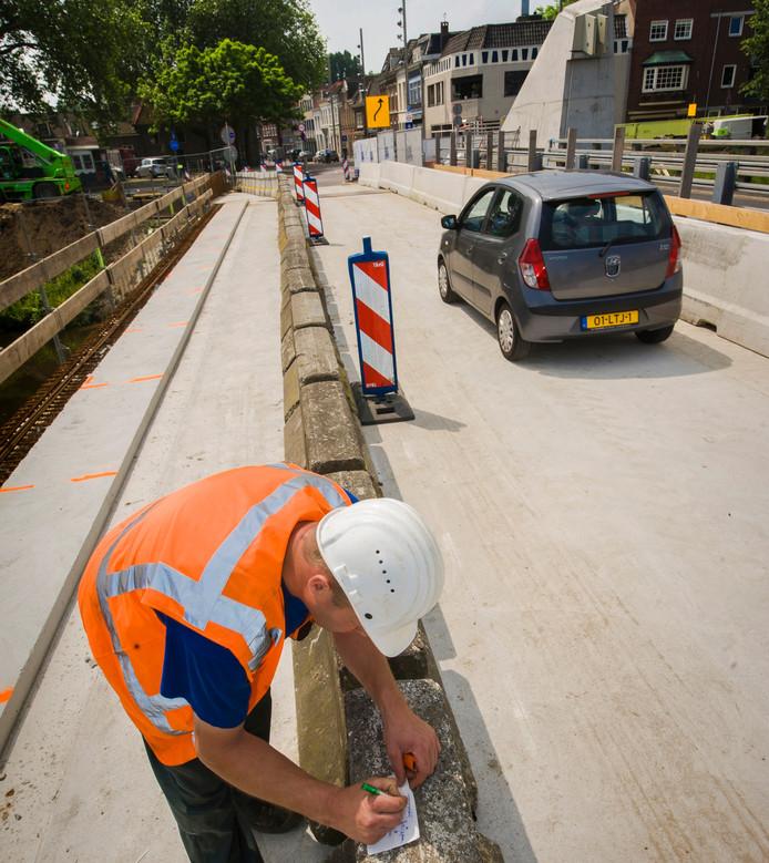Bartenbrug deel 1 is klaar en in gebruik.