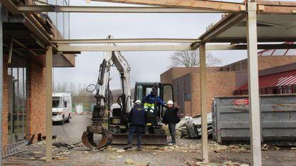 Bouw nieuwe inkom sportcentrum Puyenbroeck gestart