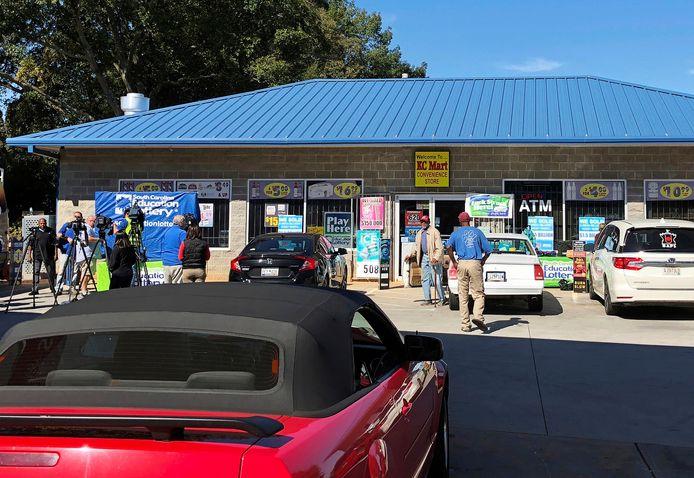 De KC-vestiging in Simpsonville waar het winnende lot werd verkocht.