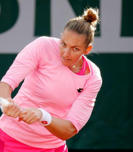 Pliskova verrast door qualifier bij WTA-toernooi in eigen land