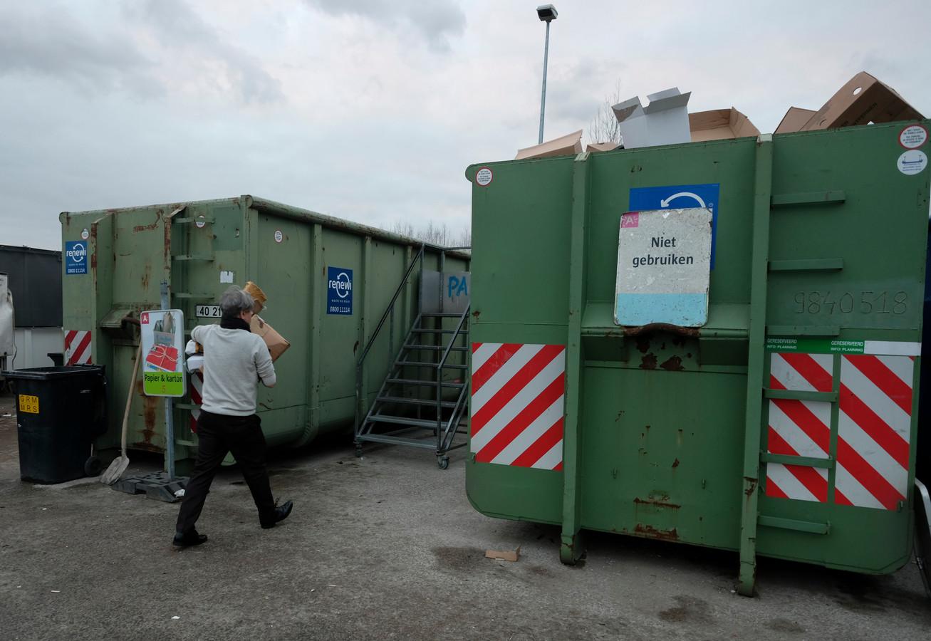 Containerpark Luchtbal is tot en met vrijdag gesloten.