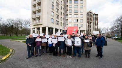 """Actie tegen hogere huurprijzen in Kielparktorens: """"Hoe kan dat in gebouwen die tóch worden afgebroken?"""""""
