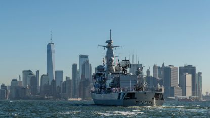 Belgische marine maakt voor het eerst in tien jaar 'de grote oversteek'