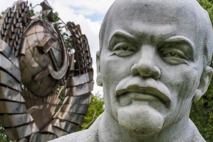 Een beeld van Vladimir Lenin, overblijfsel van een vervlogen tijd.