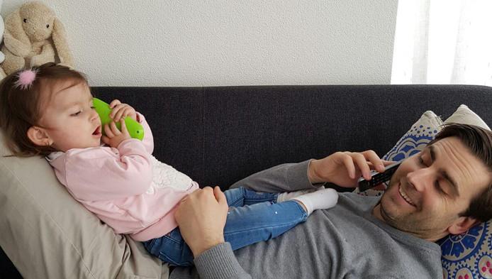 Sara en haar vader Bram