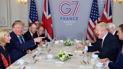 Trump en Johnson op G7: zoek de 7 verschillen