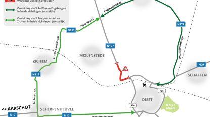 Herinrichting en onderhoudswerken Turnhoutsebaan (N127) starten maandag