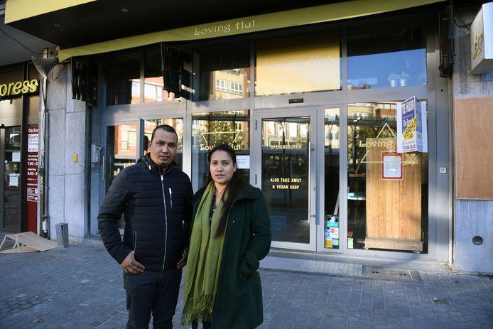 Krishna (37) en Sagun (31) openen in dit pand binnenkort Taverne Fonske