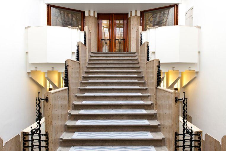 Binnen het Amrath Hotel Beeld Roy Del Vecchio