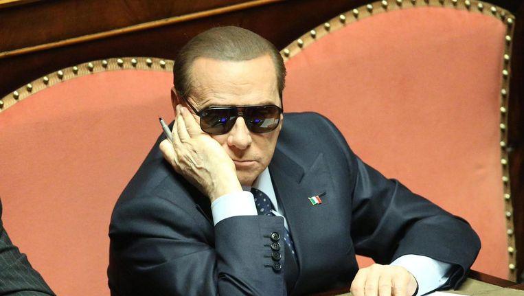 Silvio Berlusconi. Beeld epa