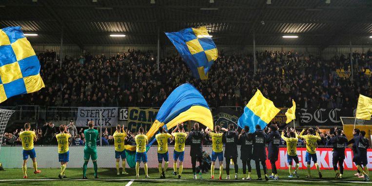 Cambuur is een van de clubs die, woedend op de KNVB, jurisische stappen onderneemt. Beeld BSR Agency