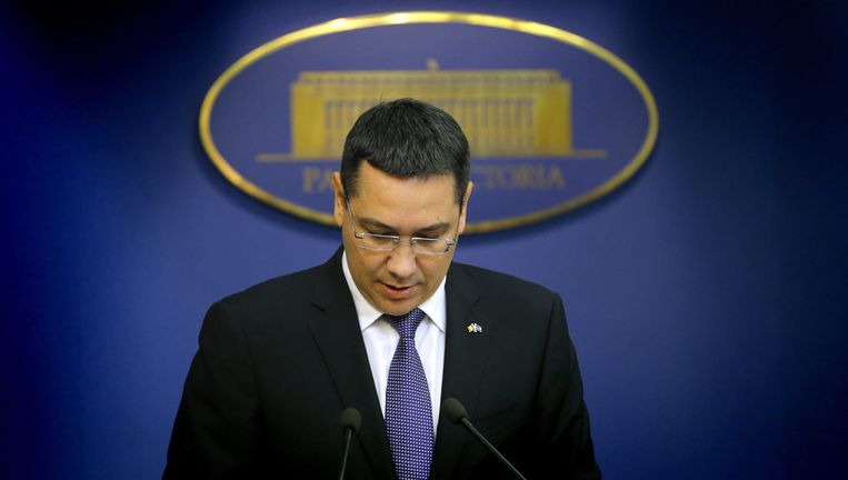 Roemeense premier Victor Ponta Beeld epa