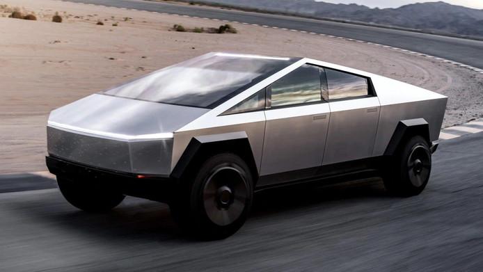 De Tesla Cybertruck.