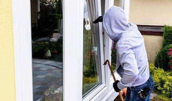 Een insluiping door een openstaande deur of een raam is zo gepiept.