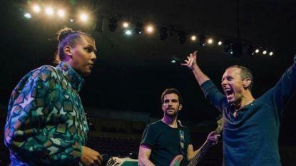 Stromae repeteert samen met Coldplay in Jordanië