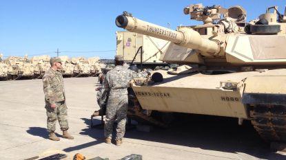 Amerikaanse legerbrigade maakt tussenstop in Antwerpse haven