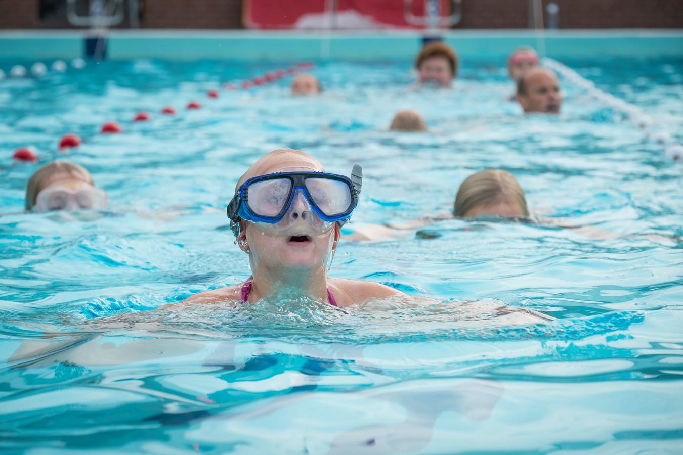 De Hokseberg is deze week voor het laatst geopend. In de laatste week van het zwemjaar wordt de vierdaagse gehouden.