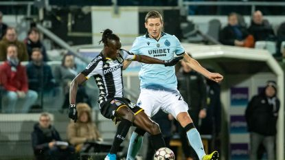 LIVE. Geen goals bij rust: Club strafte defensieve fouten Charleroi niet af, Gholizadeh miste voor open doel