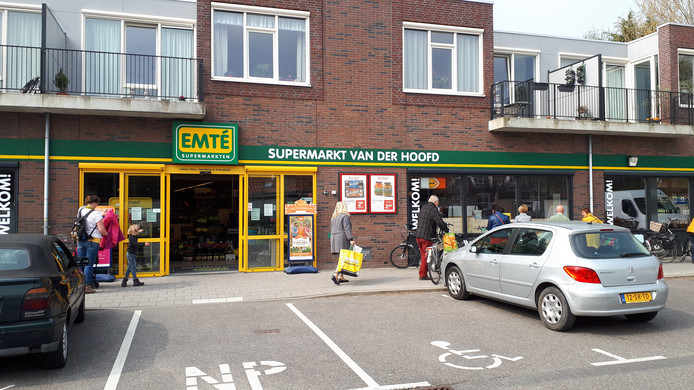 De supermarkt in Serooskerke