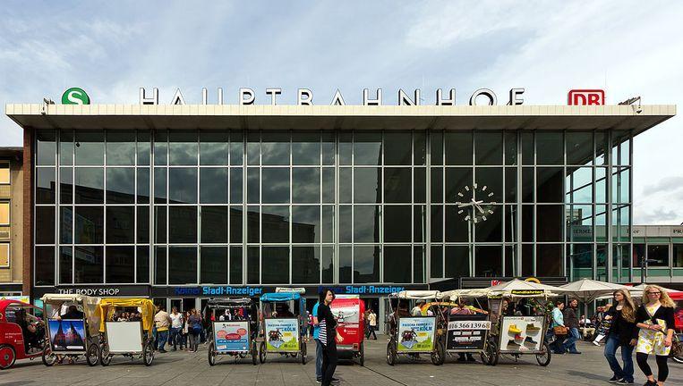 Het station in Keulen. Beeld Wikimedia Commons