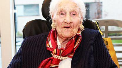 Oudste inwoner van Ingelmunster (105) overleden
