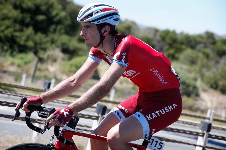 Baptiste Planckaert reed vorig jaar nog voor Katusha-Alpecin.