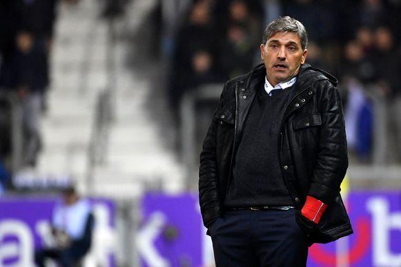 Charleroi-trainer Felice Mazzu.