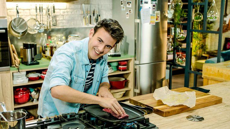 Loïc is sinds maandag te zien in 'Zot van Koken' op VTM.