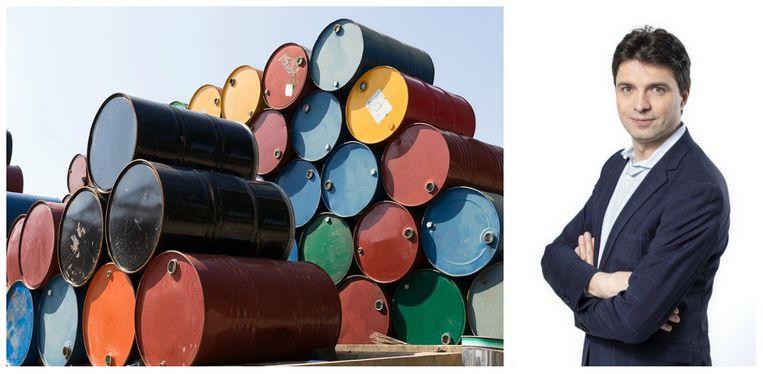 Olie geeft meteen aan wat het probleem is voor wie in grondstoffen wil beleggen, aldus Michaël Van Droogenbroeck.