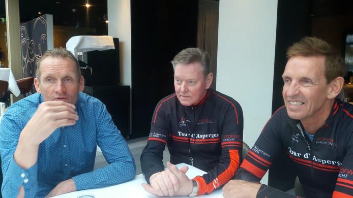 Adrie van der Poel (o.a. oud-winnaar Ronde van Vlaanderen, oud-wereldkampioen veldrijden en vader van huidig wereldkampioen Mathieu), Louis van de Waarsenburg (organisator Tour d'Asperges) en Steven Rooks (o.a. oud-winnaar Luik-Bastenaken-Luik en in 1988 tweede in het eindklassement van de Tour de France).