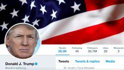Twitteraccount Trump tijdelijk onbereikbaar: medewerker haalt 'stunt' uit op laatste werkdag
