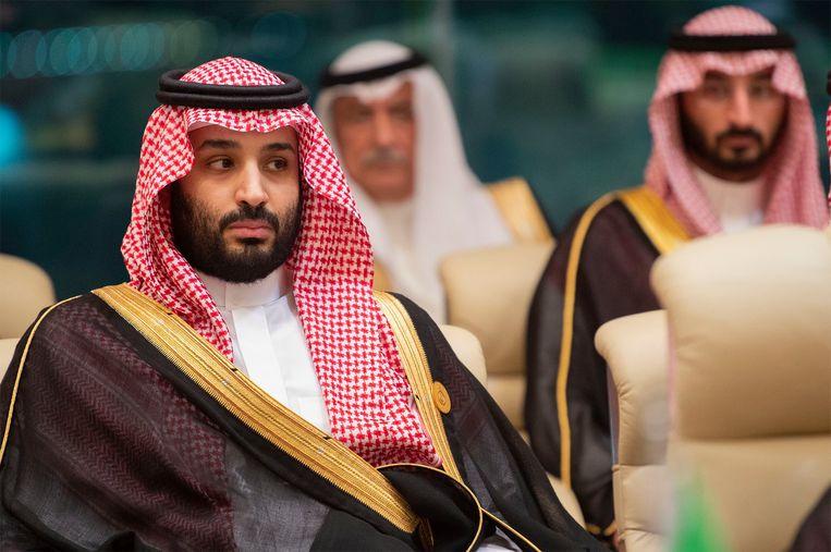 De verloofde van de vermoorde Saudische journalist Jamal Khashoggi heeft bij een rechtbank in Washington een civiele klacht ingediend tegen kroonprins Mohammed bin Salman van Saudi-Arabië. Beeld EPA