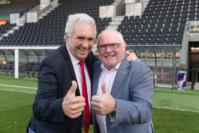 Patrick Orlans en Frank Dierckens.