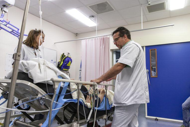 De spoedeisende hulp van het Wilhelmina Ziekenhuis in Assen. Beeld Harry Cock/de Volkskrant