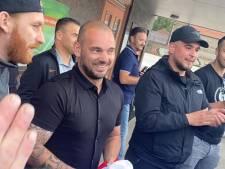 Wesley Sneijder eist maatregelen KNVB na racistische post aan het adres van zijn club DHSC