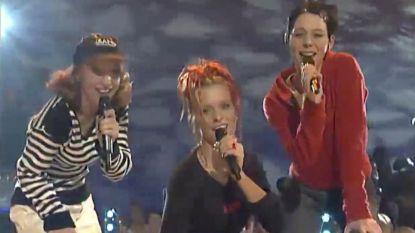 ZIEN. Dit was het allereerste tv-optreden van K3