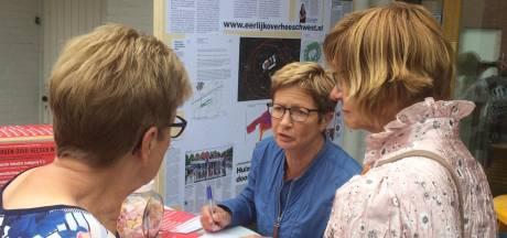 Flyeractie Heesch West: 'Natuurlijk álles op formulier aangekruist'
